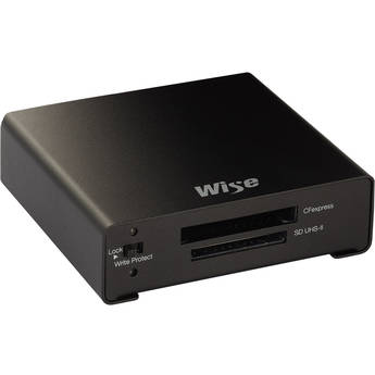 Wise Advanced CFexpress / SDXC USB 3.2 Gen 2 Type-C Card Reader