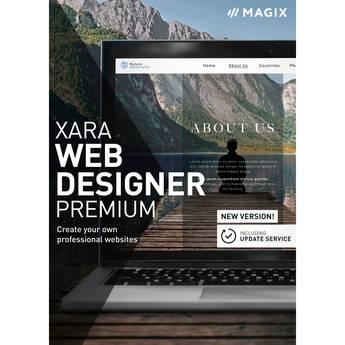 MAGIX Xara Web Designer 17 Premium Software with 1-Year Update Service (Download)