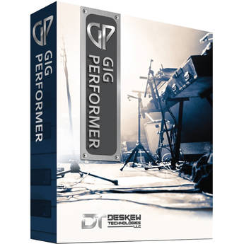 DESKEW TECHNOLOGIES Gig Performer 3 Live Performance Host for Plug-In Software (Mac OS X, Download)