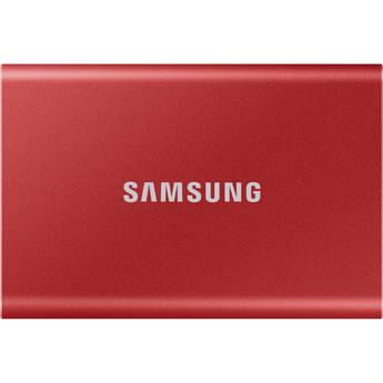 Samsung 1TB T7 Portable SSD (Red)