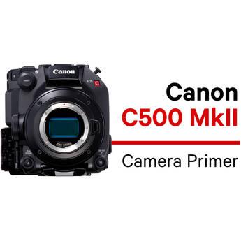 MZed Canon C500 Mk II Camera Primer Course (Download)