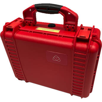 """Atomos Hard Case with Custom Foam for 5 or 7"""" Monitor (Red)"""