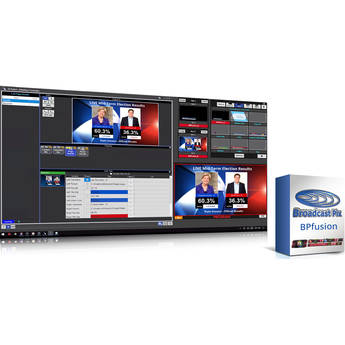 Broadcast Pix BPfusion Connect Graphics Options To Databases