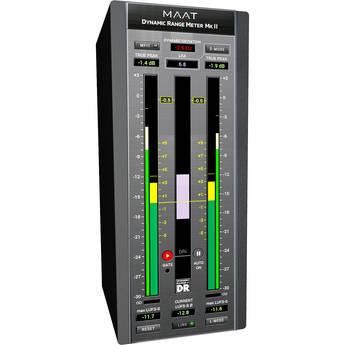 MAAT DRMeter MkII Pro Audio Software to Measure Dynamic Range (Download)