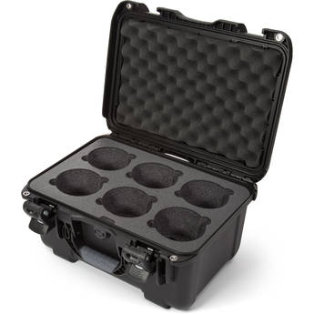 Nanuk 918 6-Lens Case with Foam Insert (Black)