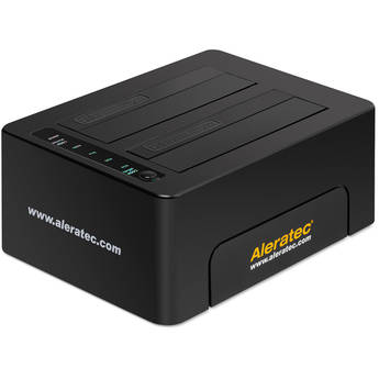 Aleratec 1:1 USB 3.0 Copy Dock SSD/Hard Drive Duplicator & Dock