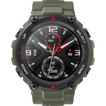 Amazfit T-Rex Multi-Sport GPS Smartwatch (48mm, Army Green)