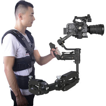 DigitalFoto Solution Limited THANOS-PRO Support Vest with Dual-Spring Arm for Select Handheld Gimbals