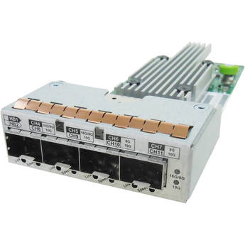 Infortrend Eonstor Converged Host Board With 4 X 8Gb/S Fc Ports Or 2 X 16Gb/S Fc Ports Or 4 X 10Gb/S Iscsi Port