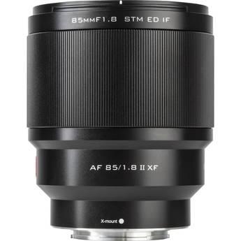 Viltrox AF 85mm f/1.8 XF II Lens for FUJIFILM X