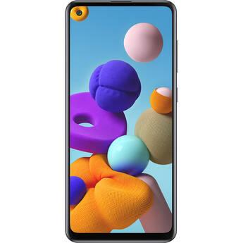 Samsung Galaxy A21s SM-A217M Dual-SIM 64GB Smartphone (Unlocked, Black)