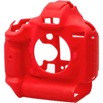 easyCover Silicone Protection Cover for Canon EOS 1Dx, 1Dx Mark II, Mark III (Red)