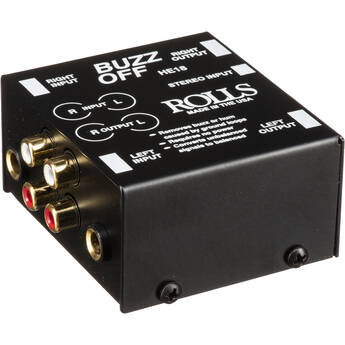 Rolls HE18 Buzz Off 2-Channel Hum and Buzz Remover
