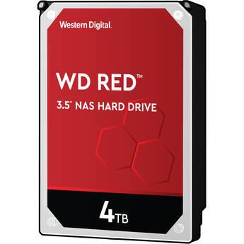 """WD 4TB Red 5400 rpm SATA III 3.5"""" Internal NAS HDD Retail Kit"""