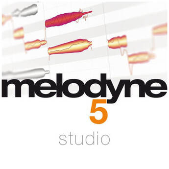 Melodyne 5 Studio Note-Based Audio Editing Software (Download)