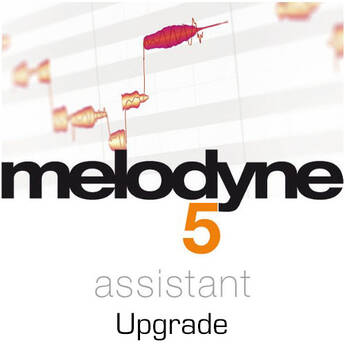 Melodyne 5 Assistant Note-Based Audio Editor Software (Upgrade from Previous Version, Download)