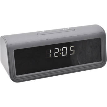 Mini Gadgets Clock with 4K UHD Covert Night Vision Wi-Fi Camera