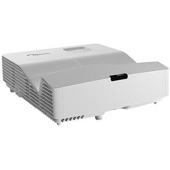 Optoma Technology W340UST 4000-Lumen WXGA Ultra-Short Throw DLP Projector