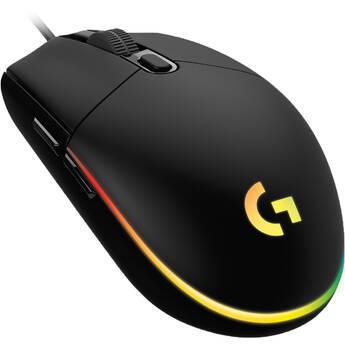 Logitech G G203 Lightsync Mouse Black