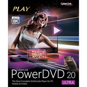 CyberLink PowerDVD 20 Ultra (Boxed)