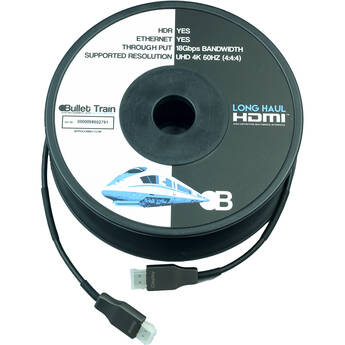 Bullet Train Active Optical HDMI Cable (131.2')