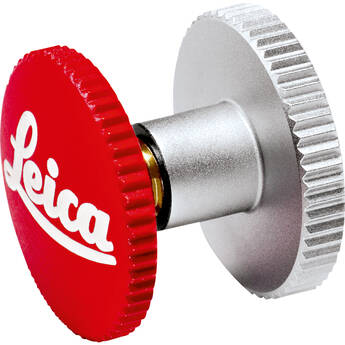 """Leica Soft Release Button for M-System Cameras (Red, 0.5"""")"""