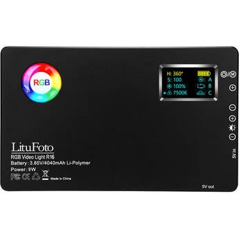 LituFoto R16 RGB Video Light