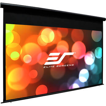 "Elite Screens 120"" Outdoor Movie Electric Projector Screen (Black)"