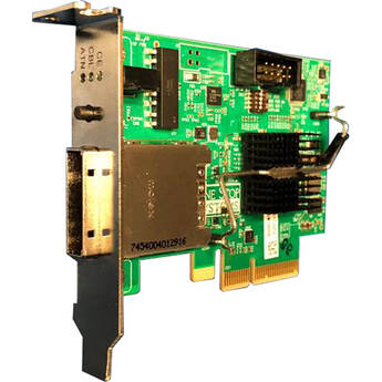 ONE STOP SYSTEMS PCIe X4 Gen 3 Switch-Based Cable Adapter with 1 PCIe X4 IPass Cable Connector