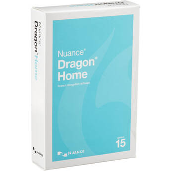 Nuance Dragon Home 15 (Boxed)