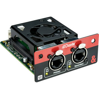 Allen & Heath SQ Dante Module for SQ Mixers and AHM-64 Audio Processor