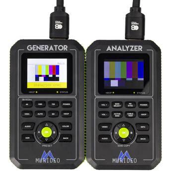 Murideo Fox & Hound 4K 4:4:4 (18 Gb/s) A/V Test Generator and Analyzer Kit