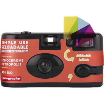 Lomography LomoChrome Metropolis Simple Use Film Camera (27 Exposures)