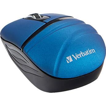 Verbatim Commuter Series Wireless Mini Travel Mouse (Blue)