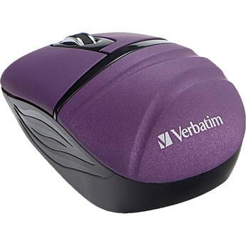 Verbatim Commuter Series Wireless Mini Travel Mouse (Purple)