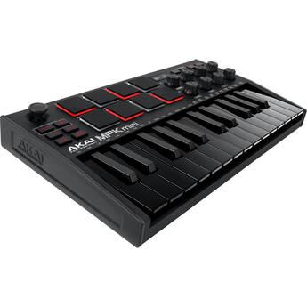 Akai Professional MPK Mini MKIII 25-Key MIDI Controller (Black)