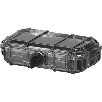 Seahorse 56 Micro Case with Padded Liner and Mesh Lid Webbing (Clear)