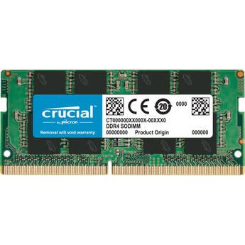 Crucial 16GB Laptop DDR4 2666 MHz SODIMM Memory Module (1 x 16GB)