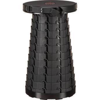 Mini Max Portable & Collapsible Stool (Black)