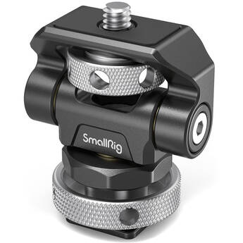 SmallRig Swivel and Tilt Monitor Mount with Shoe Adapter Mount