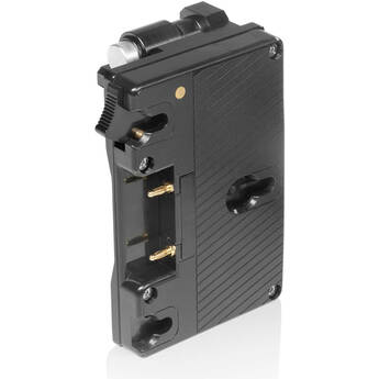 SHAPE Pivoting Battery Plate for Shogun 7 Monitor Cage (Gold Mount)