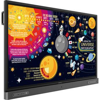 "BenQ RP6502 65"" Class 4K UHD Educational Touchscreen LED Display"