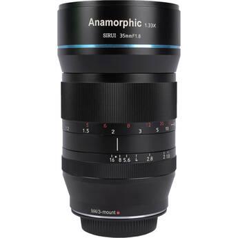 Sirui 35mm f/1.8 Anamorphic 1.33x Lens (MFT Mount)