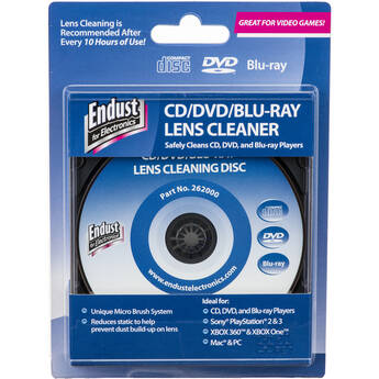 Endust CD / DVD / Blu-ray Player and Gaming Console Lens Cleaner