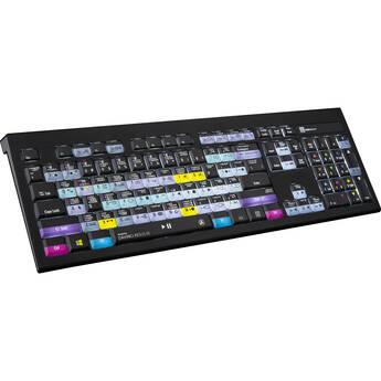 LogicKeyboard Blackmagic Design DaVinci Resolve 16 Astra Backlit Windows Keyboard