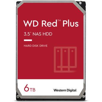 "WD 6TB Red Plus 5400 rpm SATA III 3.5"" Internal NAS HDD (CMR)"