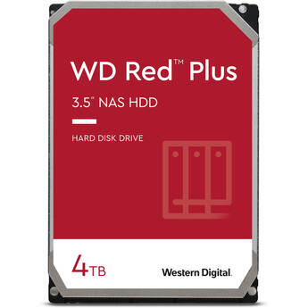 "WD 4TB Red Plus 5400 rpm SATA III 3.5"" Internal NAS HDD"