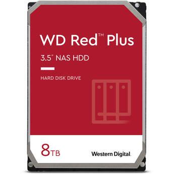 "WD 8TB Red Plus 7200 rpm SATA III 3.5"" Internal NAS HDD (CMR)"
