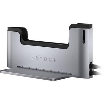 """Brydge MacBook Vertical Dock for 13"""" MacBook Pro (Space Gray)"""