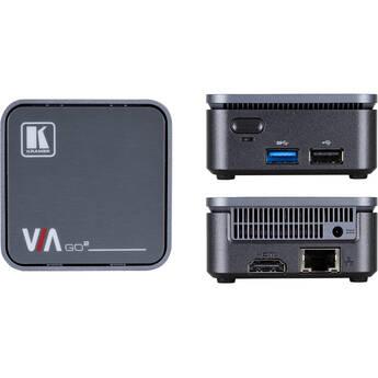 Kramer VIA GO2 Compact & Secure 4K Wireless Presentation Device